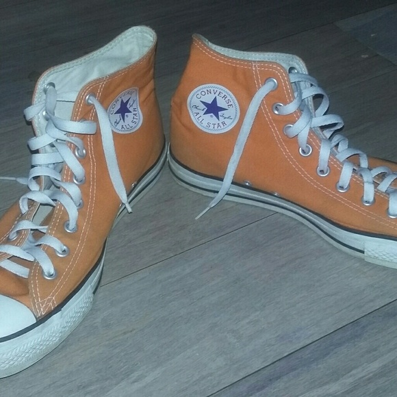 5ab05aa8a091d6 Converse Other - Mens orange converse size 10